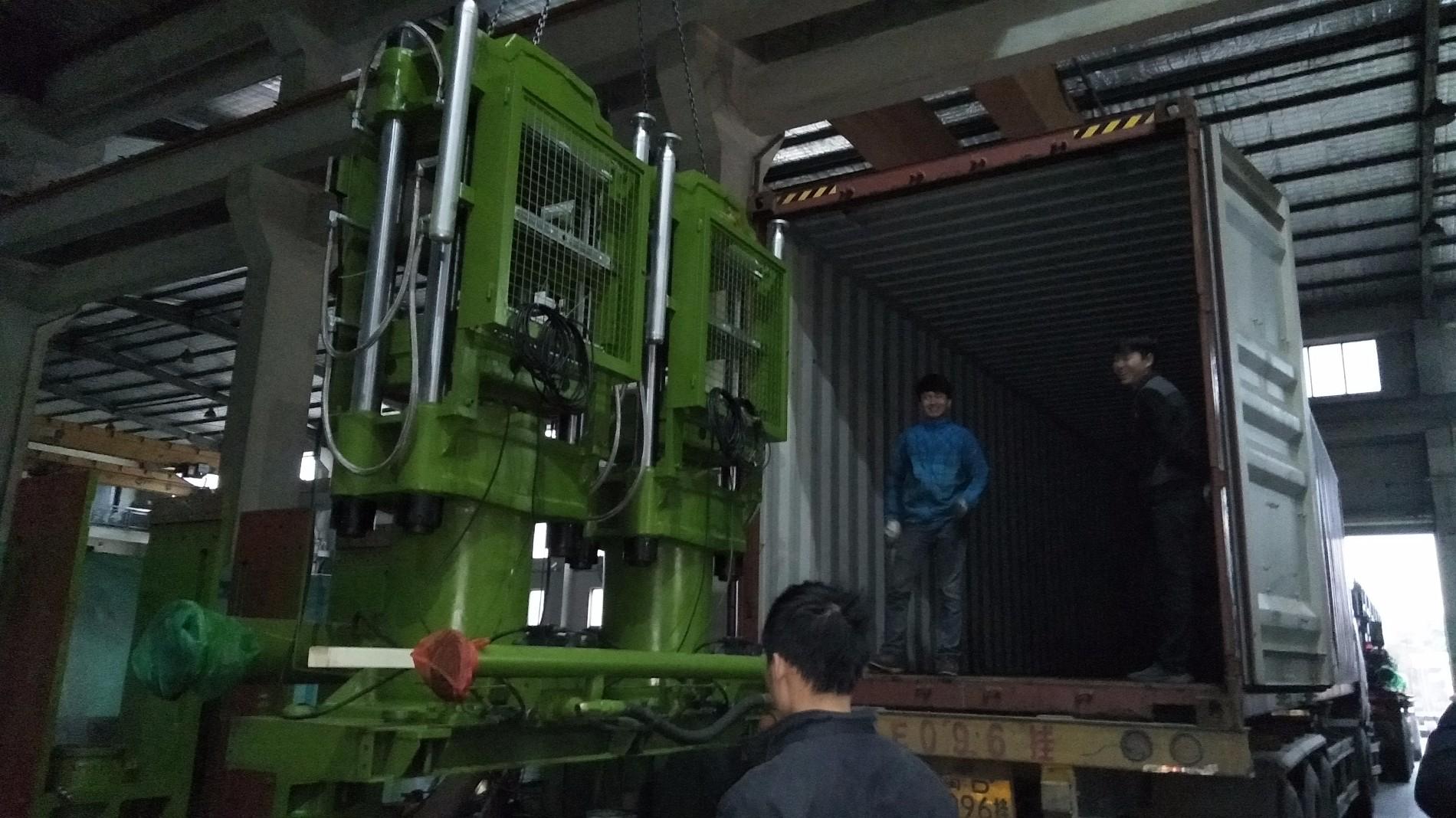 200T EVA mini foaming moulding machine shipped to India on 30-01-2018