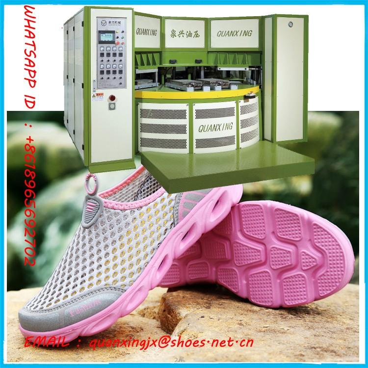 EVA shoe sole machine