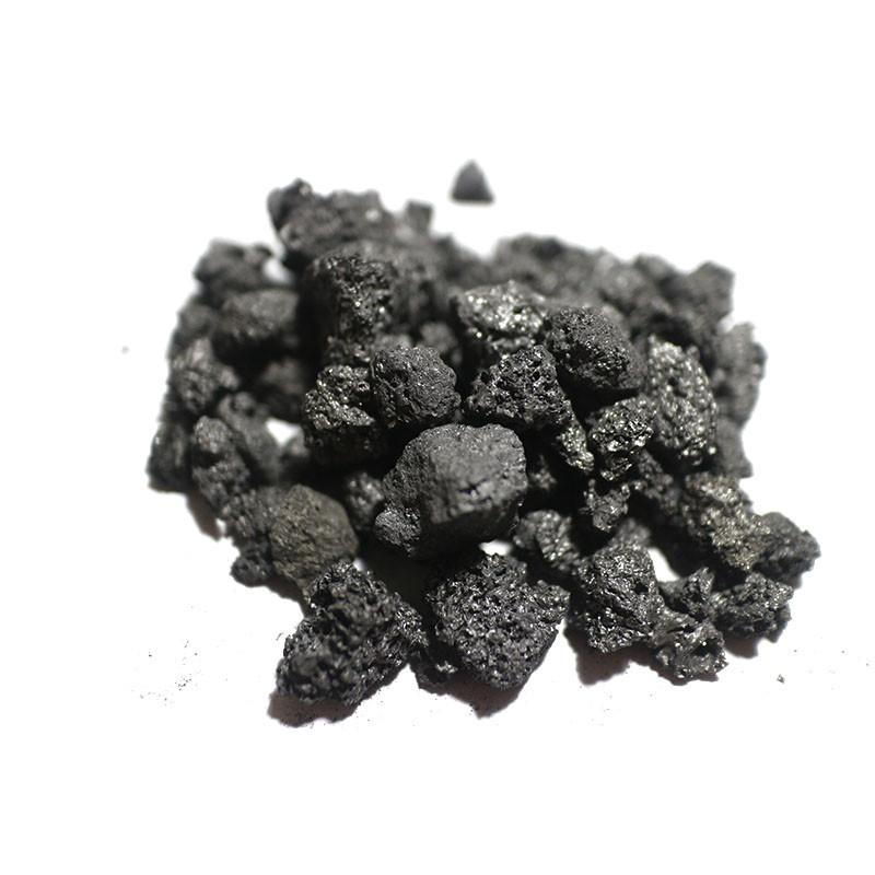 Raw petroleum coke
