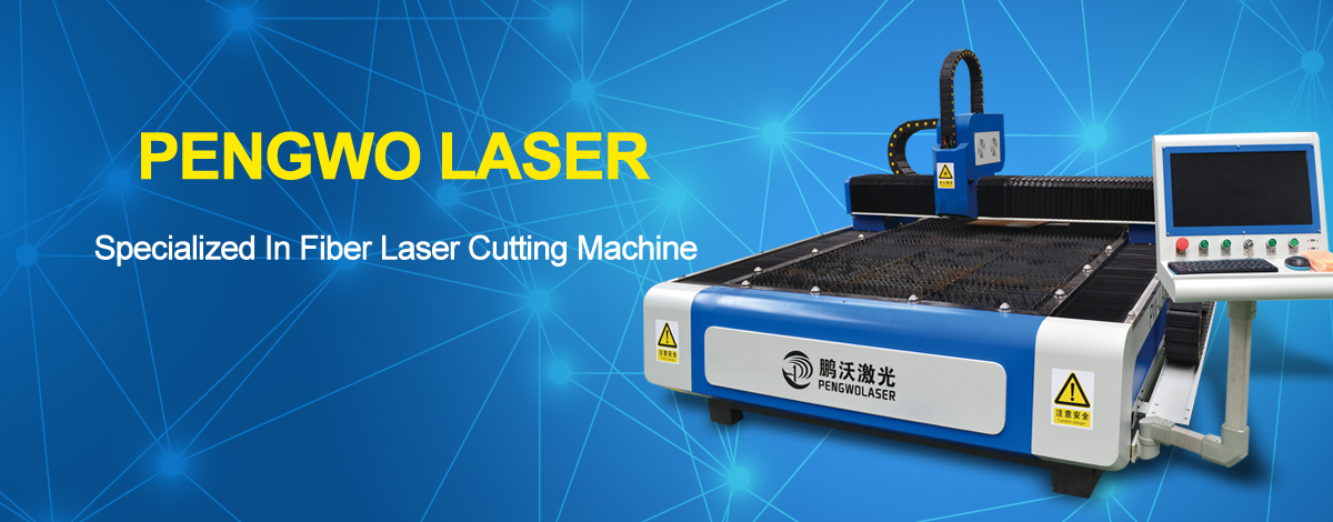 Open type single table fiber laser cutting machine