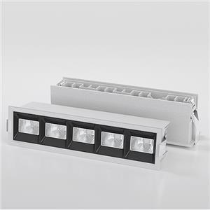 Modern LED Commercial Recessed Linear Spotlight