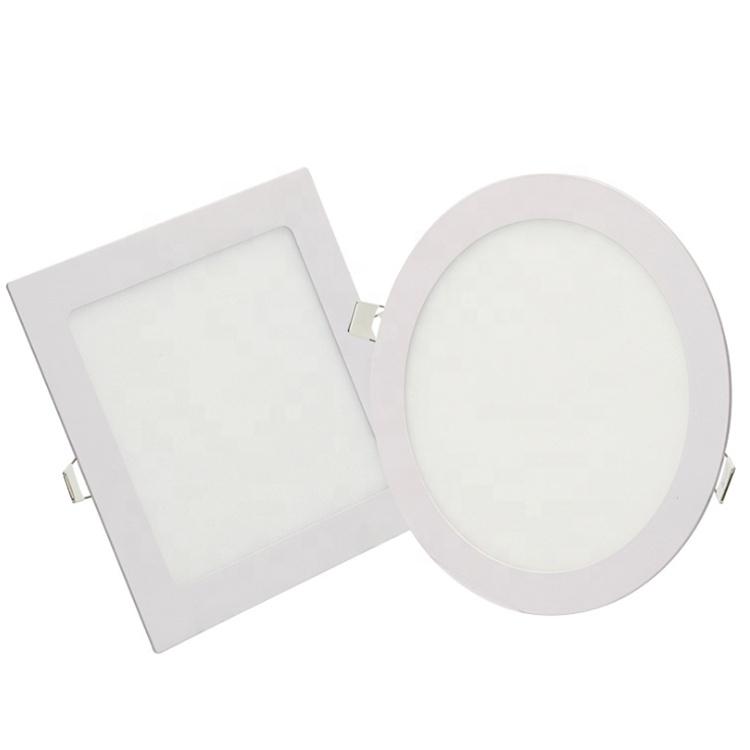 Lumière latérale LED carrée et ronde