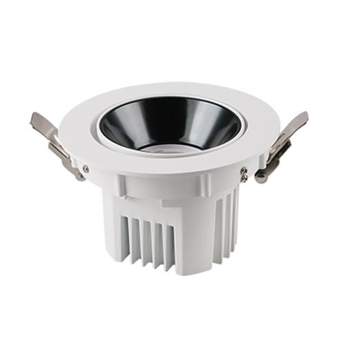Spot directionnel à encastrer au plafond à LED COB