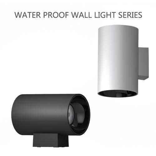 Projecteur mural extérieur étanche moderne à LED