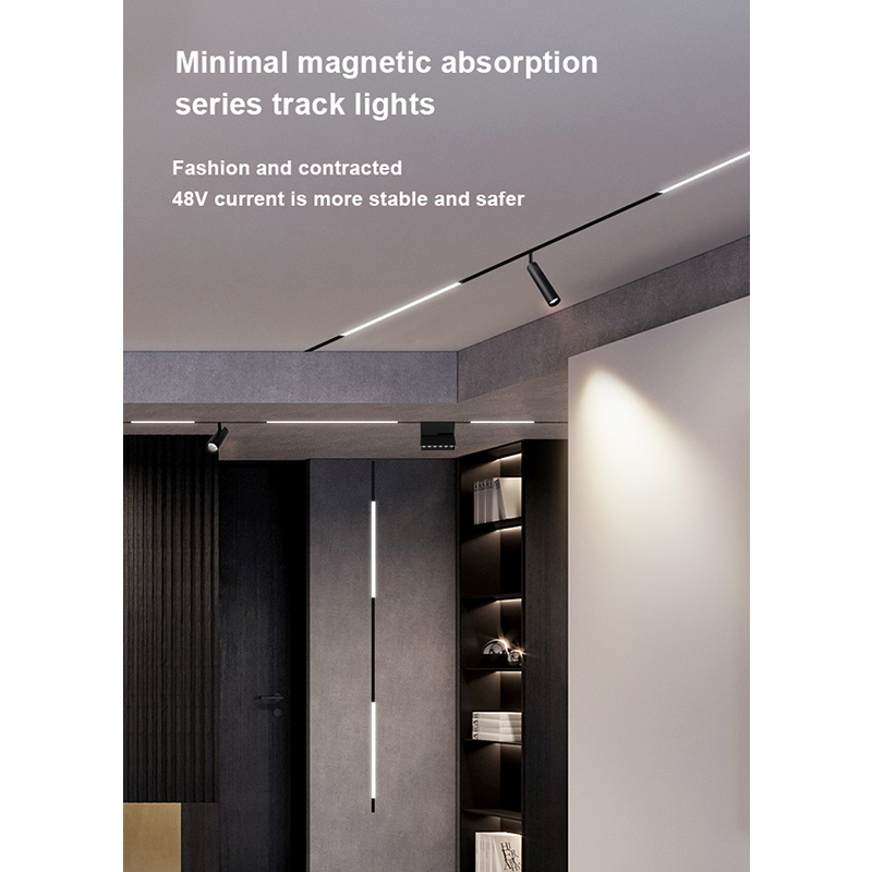 magnetic track lighting system