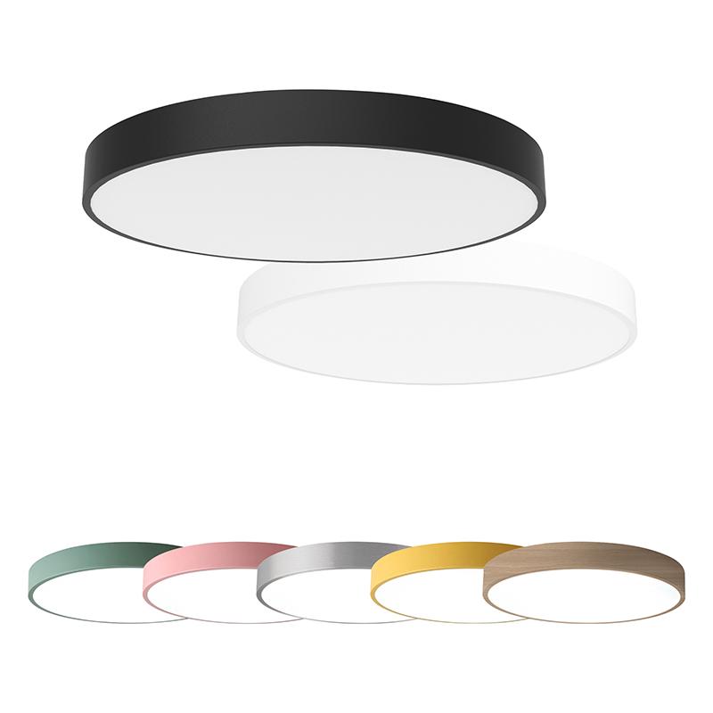 Plafonniers ronds à LED modernes