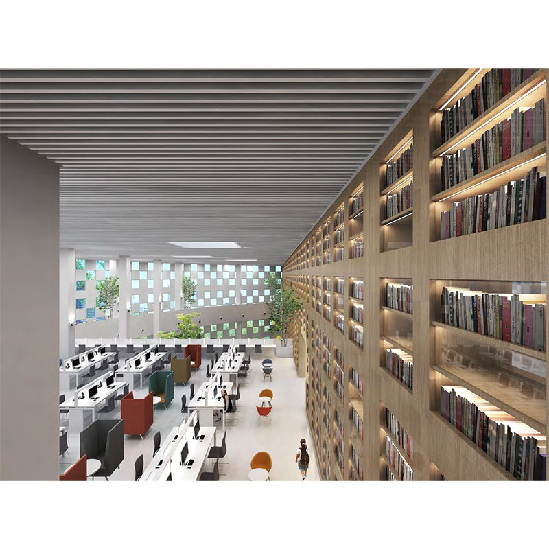 Library Of Guangdong Hotel Management Technology College