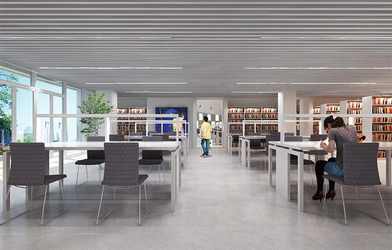 Bibliothèque du Collège technologique de gestion hôtelière du Guangdong