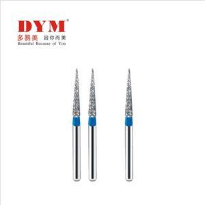 Fine size stainless steel dental handpiece burs