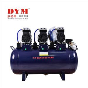 One for six silent big power oil-free air Compressor