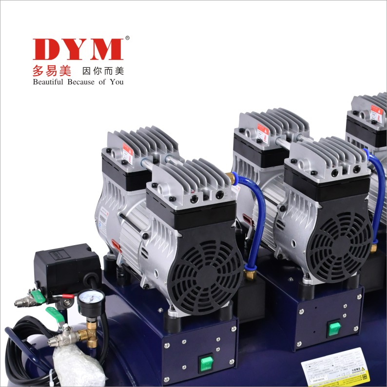 One for six silent big power oil-free air Compressor Manufacturers, One for six silent big power oil-free air Compressor Factory, Supply One for six silent big power oil-free air Compressor