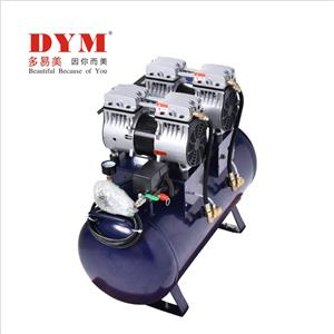One for three silent dental oil-free air compressor