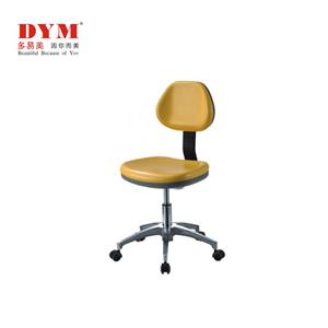 Metal base large backrest rotary dentist's chair