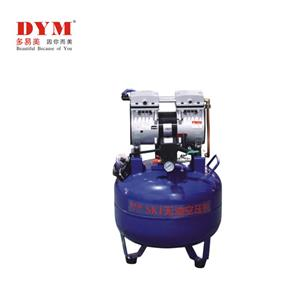 One for two quiet dental air compressor