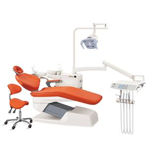 Removable seat cushioned single armrest dental chair dental units