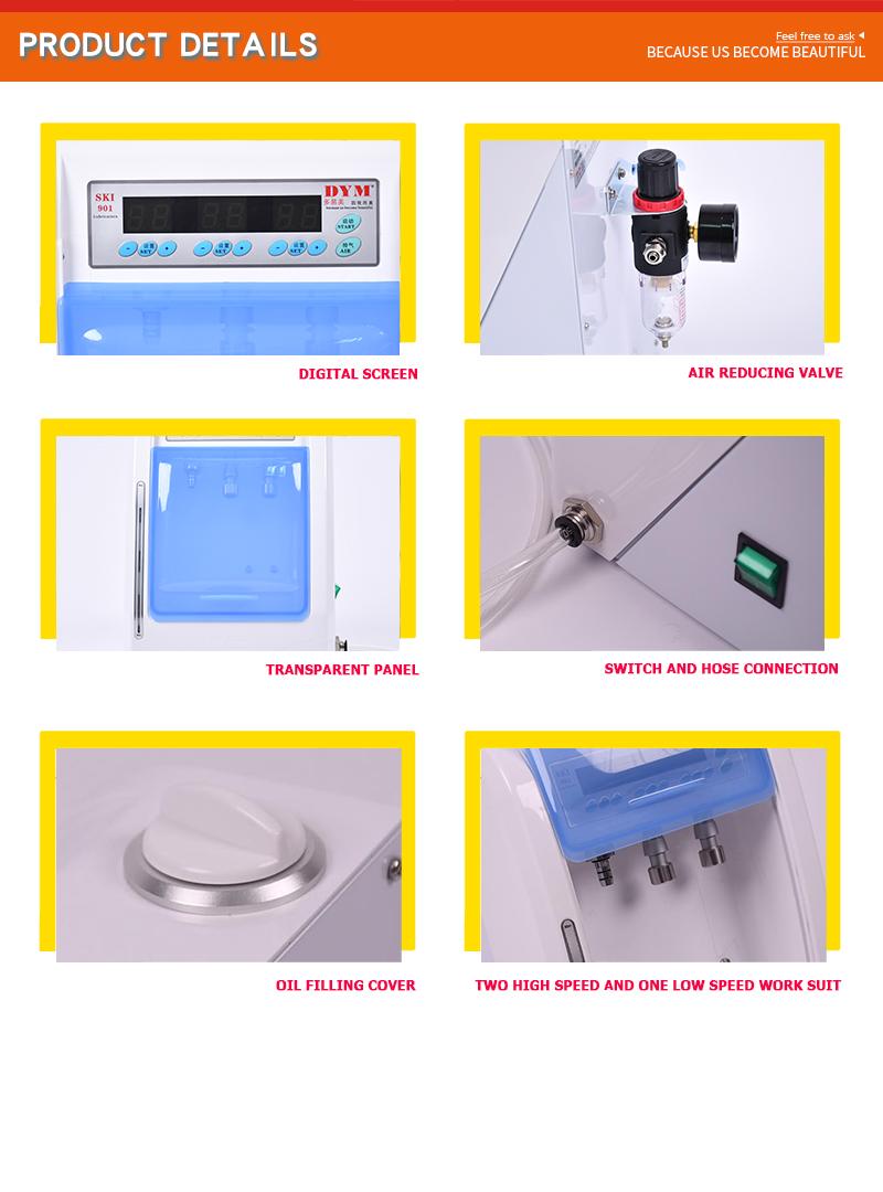 dental handpiece lubricator