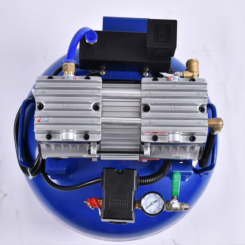 quiet dental air compressor