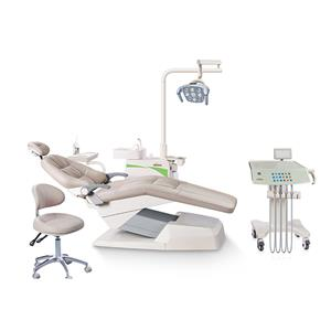 Luxury 9 positions memory 304 stainless steel trolley dental chair