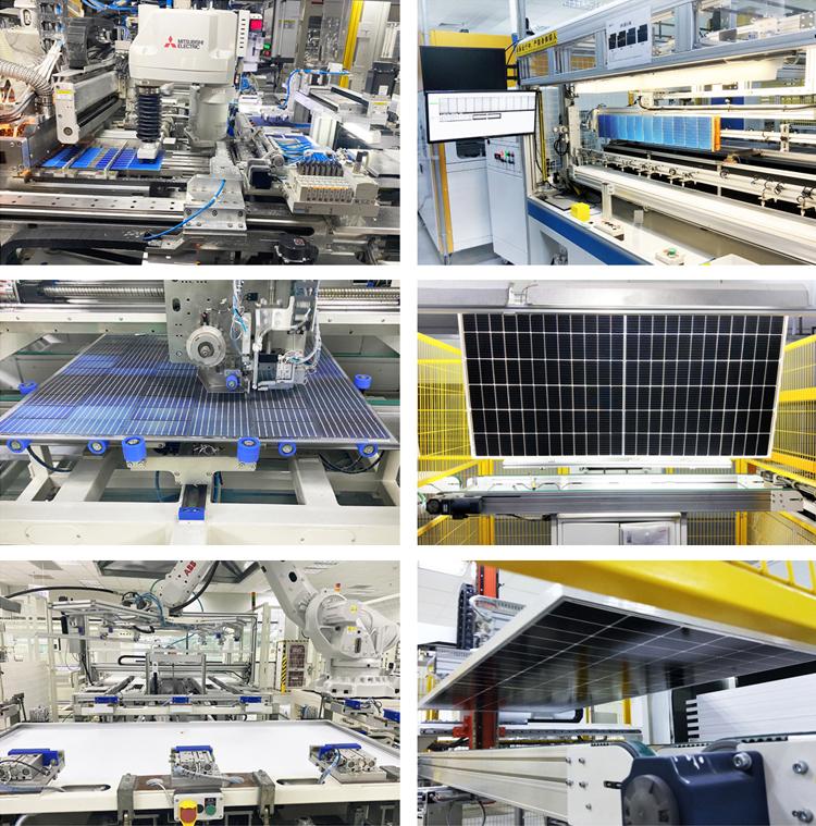 MBB technology solar panel