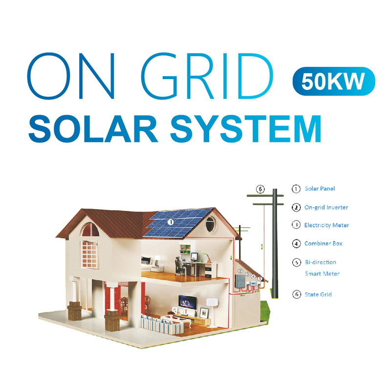 50kw Rooftop Grid Tie Solar Power System Manufacturers, 50kw Rooftop Grid Tie Solar Power System Factory, Supply 50kw Rooftop Grid Tie Solar Power System