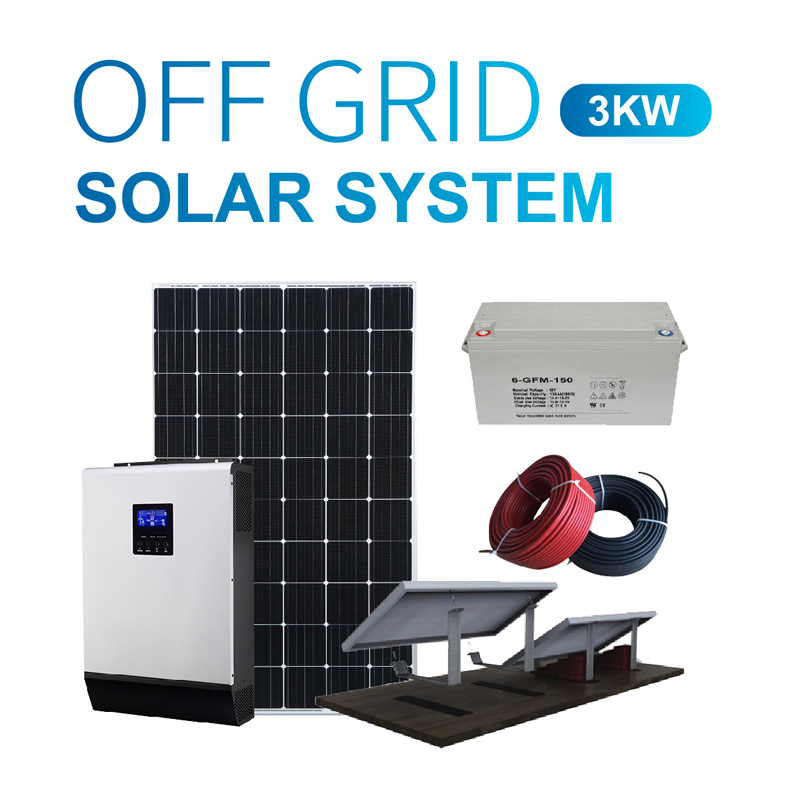 3kw Residential Off Grid Solar Power System Manufacturers, 3kw Residential Off Grid Solar Power System Factory, Supply 3kw Residential Off Grid Solar Power System