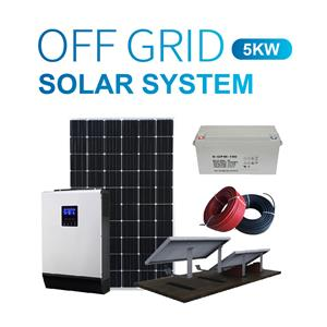 5kw Home Stand Alone Solar Power System