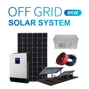 8kw Residential Stand Alone PV Power System