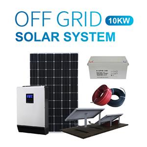10kw Residential Stand Alone Solar Panel System
