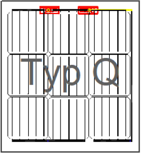 BIPV Black 40Wp, rahmenloses Glas-Glas Laminat, Typ Q Manufacturers, BIPV Black 40Wp, rahmenloses Glas-Glas Laminat, Typ Q Factory, Supply BIPV Black 40Wp, rahmenloses Glas-Glas Laminat, Typ Q