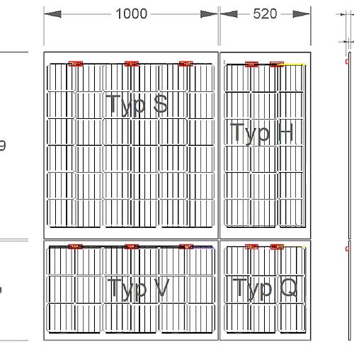 BIPV FullBlack 170Wp, rahmenloses Glas-Glas Laminat, Typ S Manufacturers, BIPV FullBlack 170Wp, rahmenloses Glas-Glas Laminat, Typ S Factory, Supply BIPV FullBlack 170Wp, rahmenloses Glas-Glas Laminat, Typ S