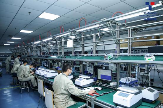 Instruments production line