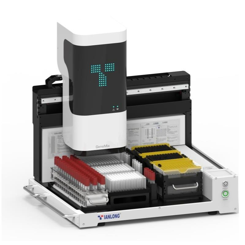 Sistema automatizado de processamento de amostra