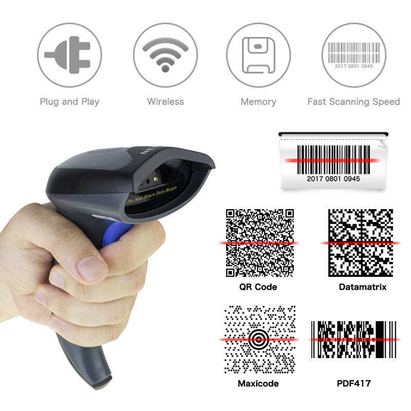 High Resolution Barcode Scanner