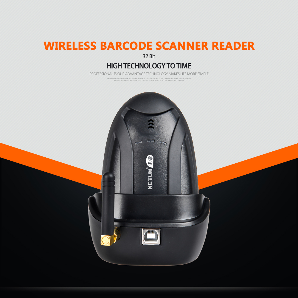 Scanner with Cradle