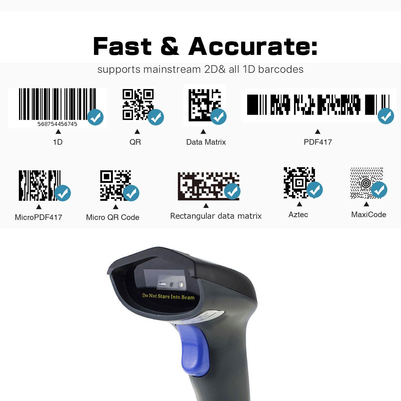 High Speed Barcode Scanner