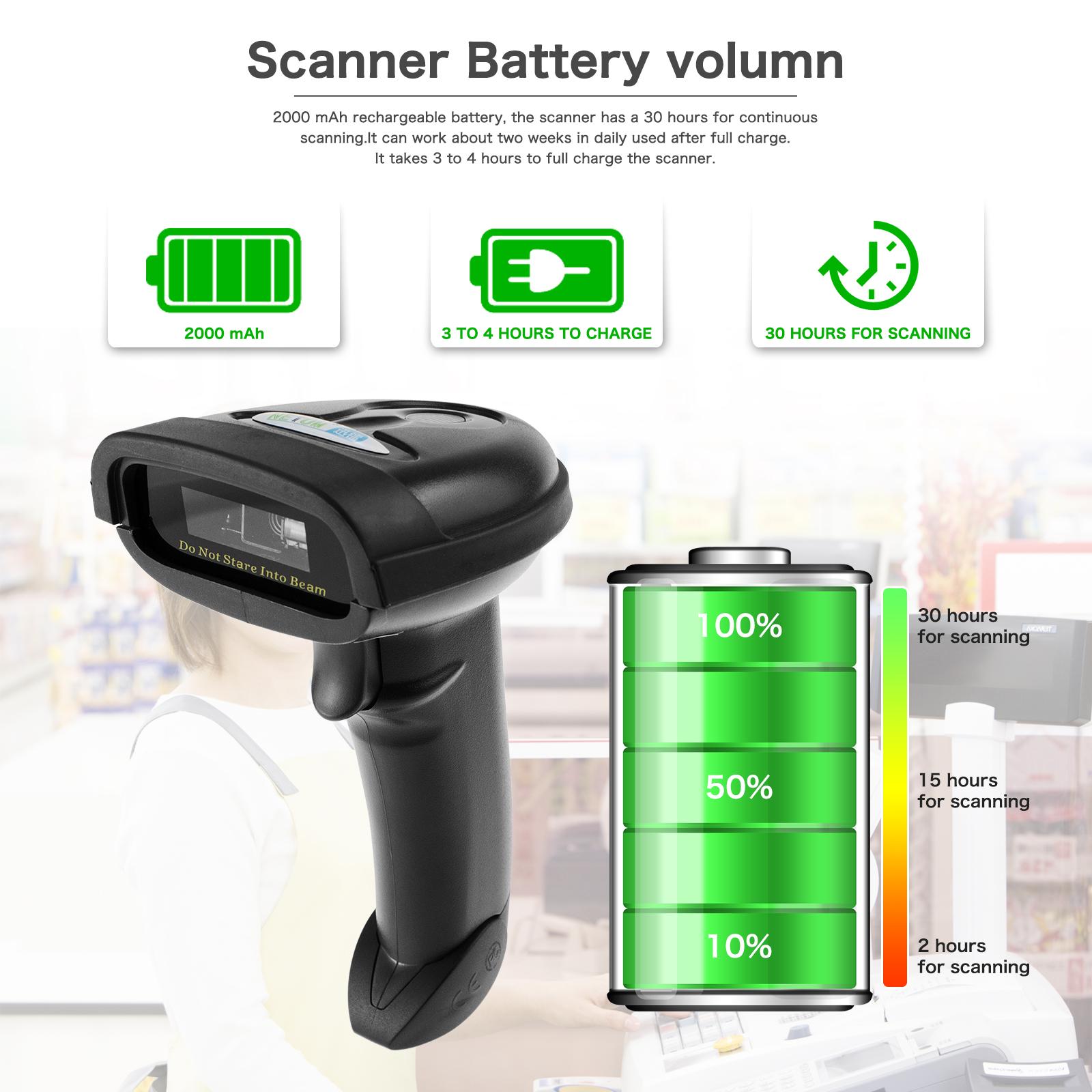 Bluetooth Handheld Barcode Scanner