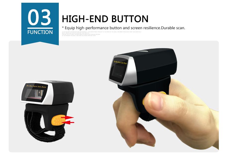 1D Ring Barcode Scanner