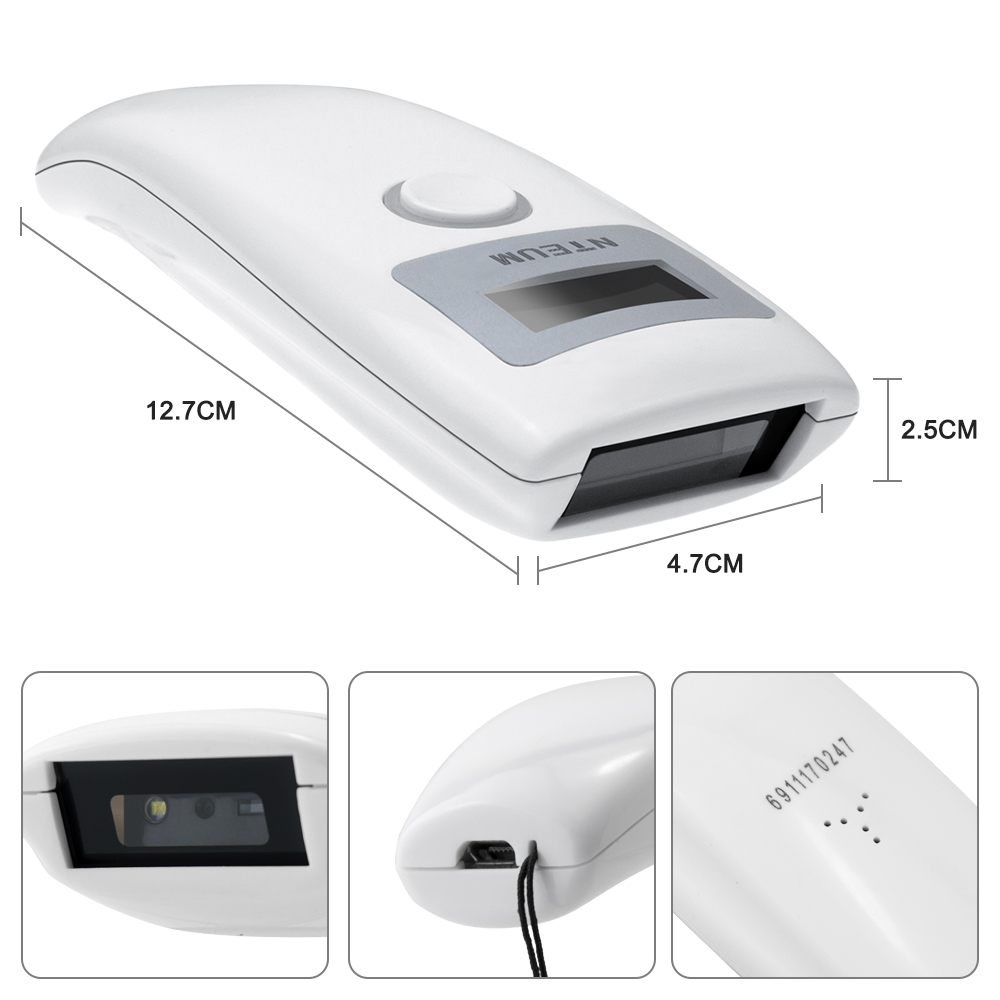 1D Pocket Barcode Scanner