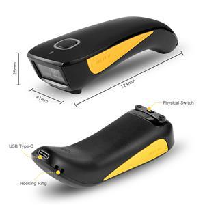 Potable Bluetooth Wireless Barcode Reader