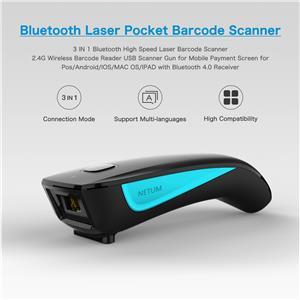 1D Laser Wireless 2.4G Hz Barcode Reader