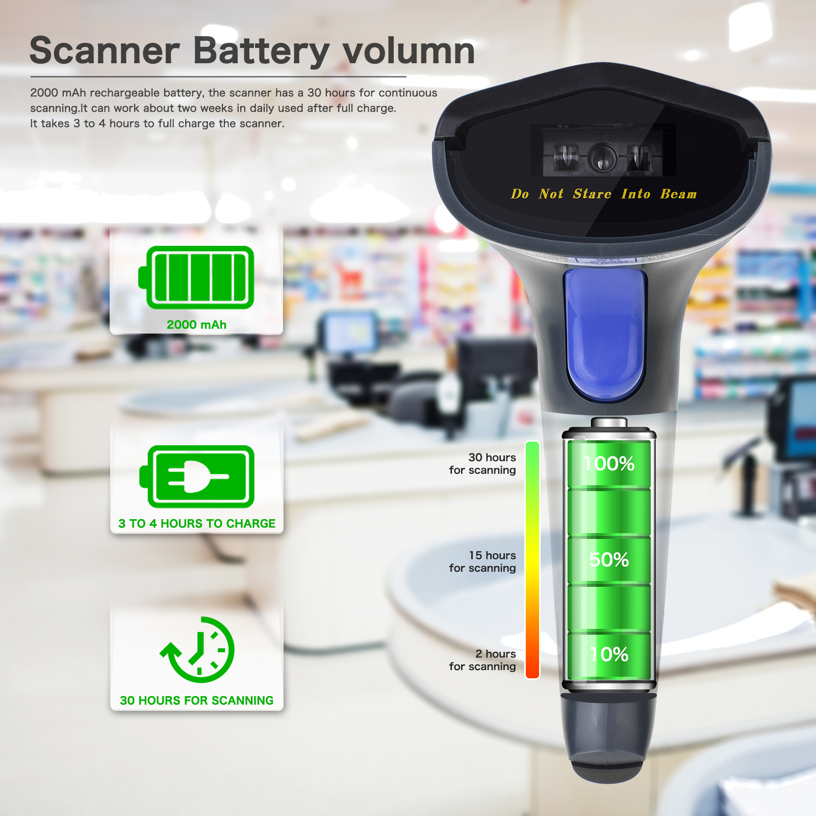 1D Bluetooth Barcode Scanner Support Android Manufacturers, 1D Bluetooth Barcode Scanner Support Android Factory, Supply 1D Bluetooth Barcode Scanner Support Android