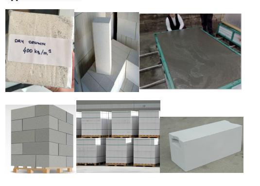AAC type aluminium paste