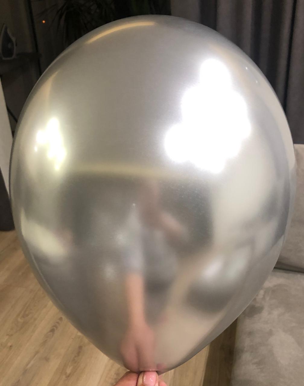 metallic LaTeX balloon aluminum paste