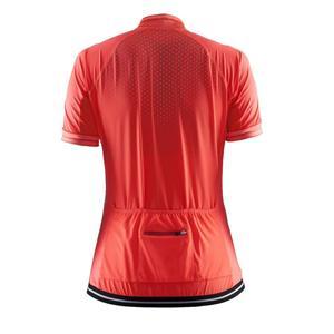Women Cycling Jersy Short Sleeve Zipper