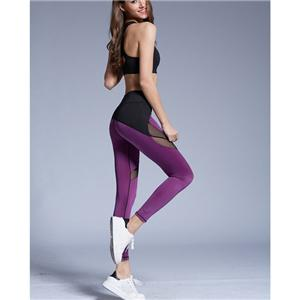 Womens Girls Stretchy Yoga Fitness Running Leggings