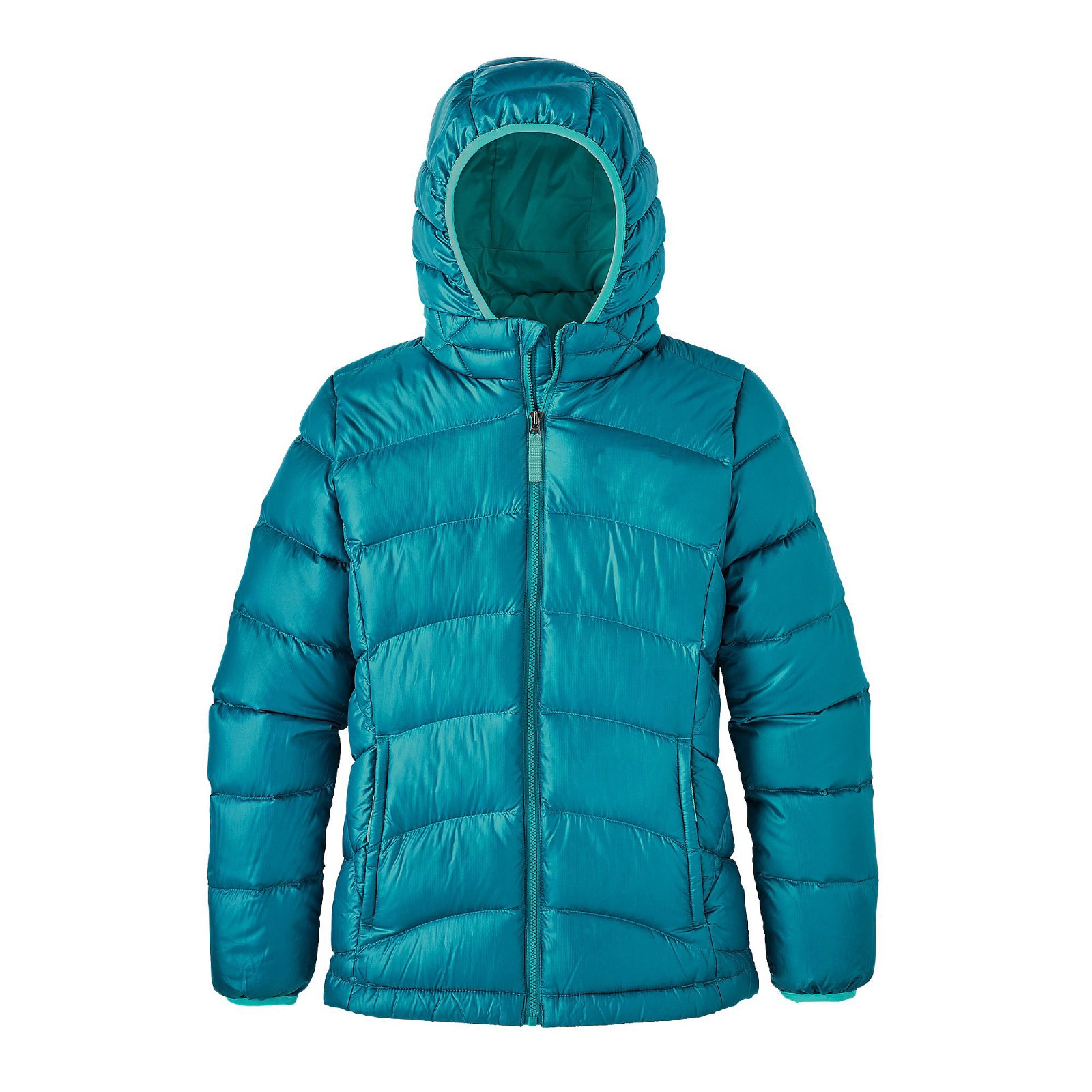 Girls' Hi-loft Down Jacket Hoody