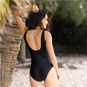 Splice One-Piece racerback Swimsuit sexy swimwear for women