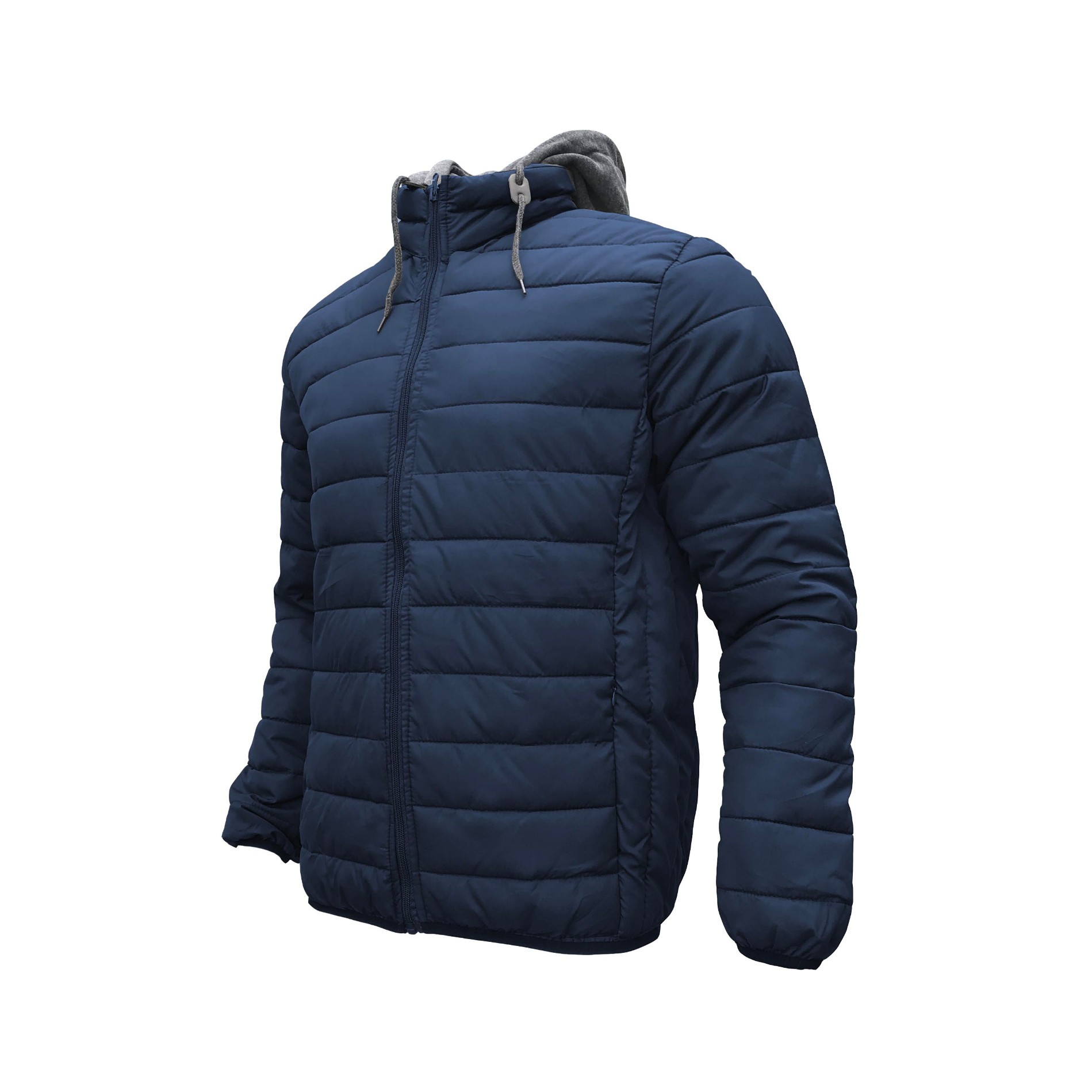 Men's Hooded Padding Jacket Winter Zipper Quilted Coat Manufacturers, Men's Hooded Padding Jacket Winter Zipper Quilted Coat Factory, Supply Men's Hooded Padding Jacket Winter Zipper Quilted Coat