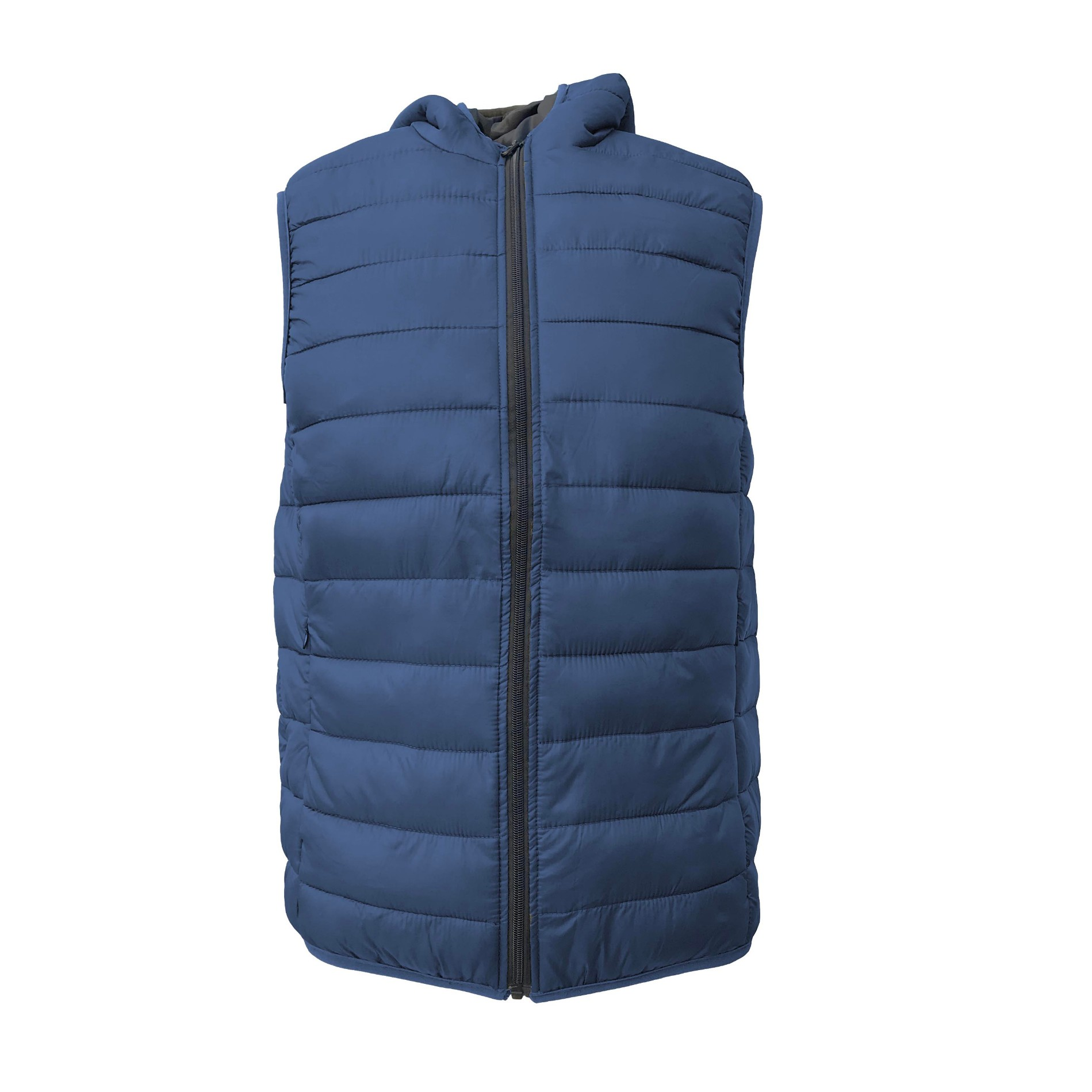 Men's Sleeveless Jackets Winter Padded hooded Vest
