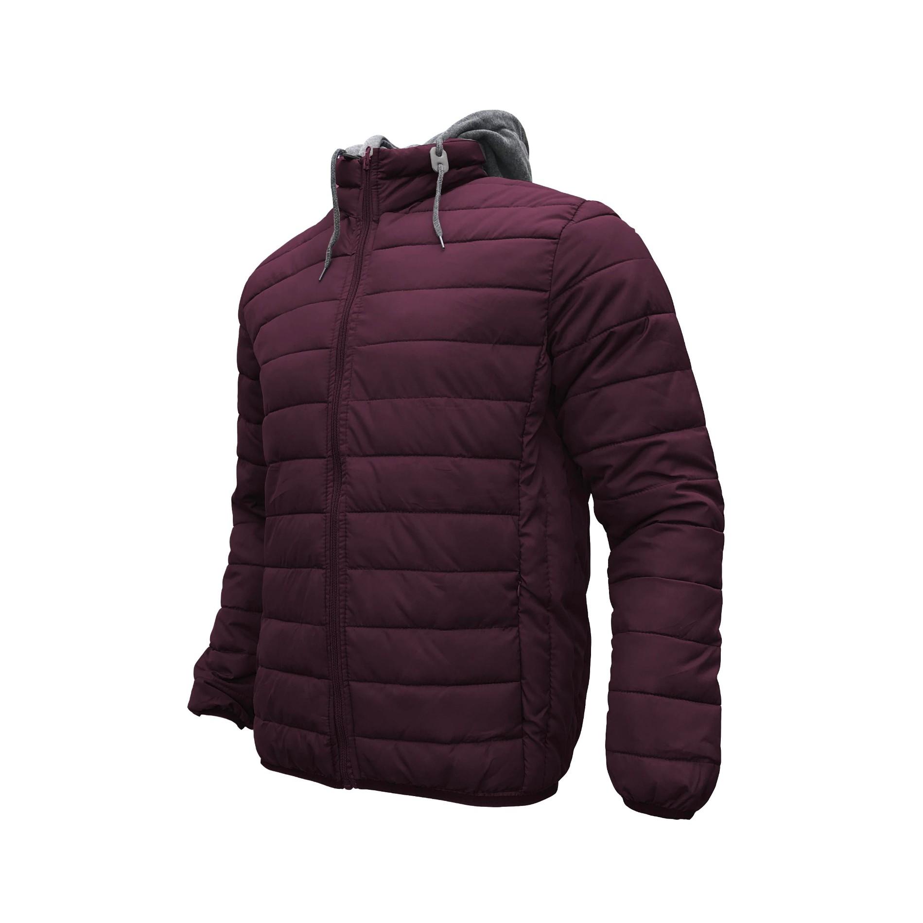 Men's Hooded Padding Jacket Winter Zipper Quilted Coat Manufacturers, Men's Hooded Padding Jacket Winter Zipper Quilted Coat Factory, Supply Men's Hooded Padding Jacket Winter Zipper Quilted Coat